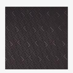 Black silk stole - SIGNATURE STOLE | Fendi