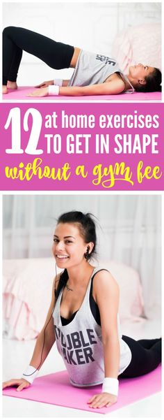 12 At Home Exercises to Get In Shape Without a Gym Fee - Tips and Tricks for saving the most money