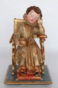 Niño Jesús soberano y dormido. Autor desconocido. Siglo XVI. Museo Diocesano. Zamora