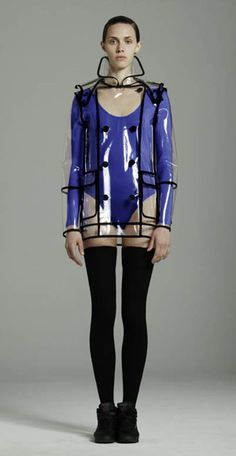 Saving every penny I come across for this AMAZE-balls clear raincoat by Wanda Nylon.