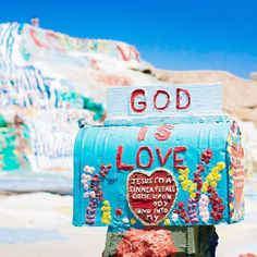 Click to close image, click and drag to move. Use arrow keys for next and previous. Salton Sea California, California Love, Cute Wallpaper Backgrounds, Cute Wallpapers, Rainbow Cartoon, Salvation Mountain, Senior Trip, Perfect Love, Jesus Freak