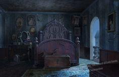 A girl's room, abandoned long ago.