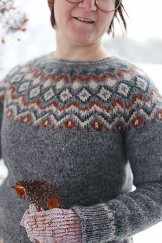 Fair Isle Knitting Patterns, Icelandic Sweaters, Knit Crochet, Men Sweater, Wool, Handmade, Crafts, Fashion, Crochet Stitches Patterns