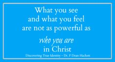 Who you are in Christ!