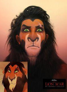 Amazing Disney Villain Makeup