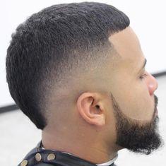 Mens hairstyles #menshairstylesfade Fohawk Haircut Fade, Tapered Haircut, Mohawk Hairstyles Men, Black Men Hairstyles, Hair And Beard Styles, Curly Hair Styles, Young Men Haircuts, Mohawk For Men, Faded Hair