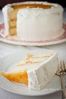 Esther Bolick's Orange Marmalade Cake recipe, from Jan Karon's Mitford books.  I'm making this for a dessert auction.  Yummm.