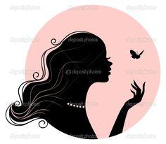 woman's silhouette - Google Search