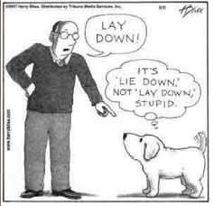 Good dog. The language teacher in me made me repin this one!