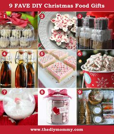 9 Fave DIY Christmas Food Gifts