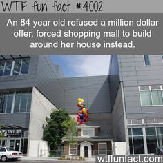 The house from the movie up in Seattle - WTF fun facts
