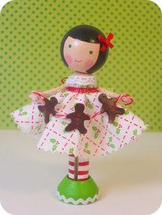 gingerbread lolli  raven by lollipopworkshop on Etsy