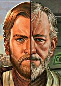OBI WAN KENOBI 'THE YOUNG AND THE OLD'.