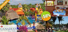 Hotel La Querencia by Canadian Resorts en Nuevo Vallarta - $550 en lugar de $1,100 por 1 Día / 1 Noche en una Suite + Desayuno Continental para 2 Personas Click http://cupocity.com