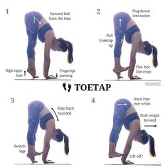 The trick to #toetap is... nailing your basics! Yes, you read that right. It's the same as all other advanced poses or transitions. I mean you can't run if you don't know how to walk right? Hmm, maybe you can, but the chances of face-planting are pretty high. I'm definitely speaking from experience . . The last few #RuthsYogaTips #yogatutorial posts (wrists, forward folds, core etc) sets you up for this so if you haven't seen them, you know what to do. Apply all of them to this. Pluggi