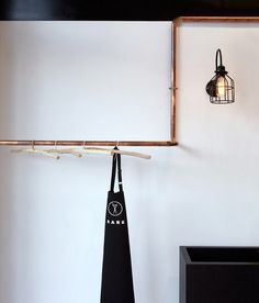 Wall sconce lamp light in industrial restoration style Cage edison
