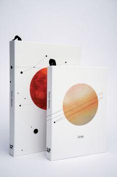 visualgraphc:  Pocket Universe Stationery - Chang Shi