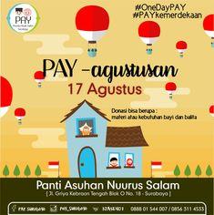Event Poster Agustus - PAY Suroboyo Event Poster Design, Dan