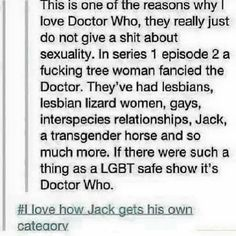 Jack deserves his own category.