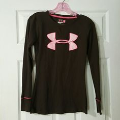 Under Armour long sleeve shirt Size small, worn only once and it's from a pet free smoke free home. Under Armour Tops Tees - Long Sleeve
