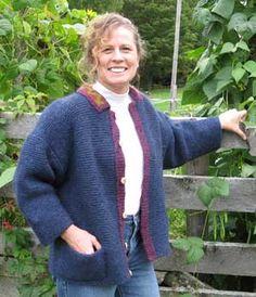 Adult Shepherd's Jacket--Peace Fleece Fleece Projects, Introvert, Peace, Knitting, Coat, Sweaters, Jackets, Fashion, Down Jackets