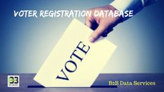 Best Voter Registration Database | B2B Data Services Registered Voters Mailing List is the way to have better leads. These leads from B2B Data Services spread out across several industries. #best #voter #registration #mailing #database #list