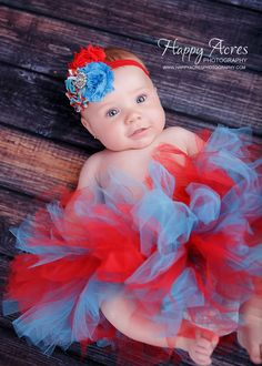 Red and Turquoise tutu....Dr. Seuss Tutu and by alliballiboutique, $34.95