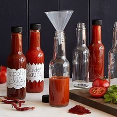 Make your own full-bodied hot sauce with this DIY kit that offers a kick from chipotle and guajillo peppers. Chili Spices, Curry Spices, Chipotle, Inexpensive Christmas Gifts, Holiday Gifts, Christmas Presents, Holiday Fun, Kitchen Gifts, Kitchen Tools