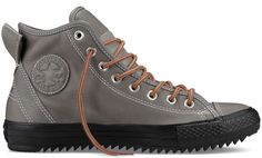 Converse Chuck Taylor. Hollis Thinsulate Boot - Gray Winter Sneaker Boots