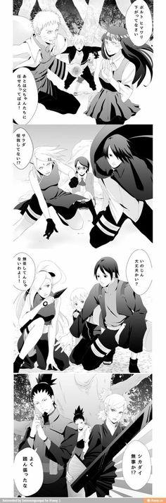 Naruhina, Sasusaku, SaiIno e Shikatema :3