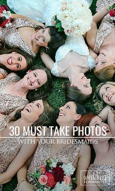 Bridesmaids are your best friends and supporters. Make sure to have fun on your wedding day and capture all the special moments with these must-take wedding photos ❤ See more: http://www.weddingforward.com/must-take-wedding-photos-with-bridesmaids/ #weddings #photography #bridesmaids Photo via Instagram @foreverphotographystudio