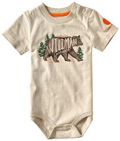 Keep your little outdoorsy baby comfy in this bodysuit that features a breathable cotton blend and a shoulder placket for quick changes when the going gets rough. Baby Boy Fashion, Kids Fashion, Cheap Fashion, Baby Time, Baby Fever, Future Baby, Baby Boy Outfits, Cute Babies, Children