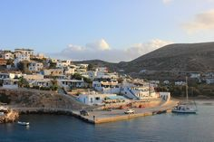 Port of Stavros village at Donoussa island Cyclades Greek Islands, Greece, Europe, River, Beach, Outdoor, Landscapes, Greek Isles, Greece Country