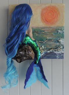 Check out this item in my Etsy shop https://www.etsy.com/au/listing/470430015/pretty-blue-mermaid-glow-in-the-dark-3d