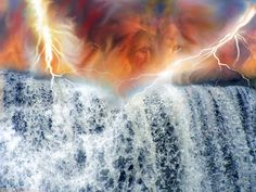 """In the beginning, rain was not part of the natural order (Gen 2:5). The antediluvian world was watered by moisture which oozed through the soil from a reservoir beneath the land, called the """"deep"""" . Springs and rivers also got their water from the deep. If oceans had surrounded the land, evaporation would have generated clouds and hence rain."""