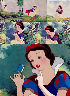 These scenes and their artistry are why Snow White is one of the best movies of all time.