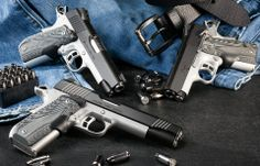 Kimber Master Carry Pro with full-size Custom and ultracompact Ultra