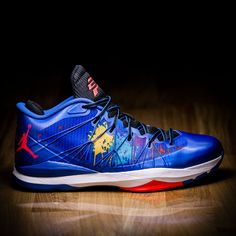 3358f7c7022 Nike Air Jordan CP3.VII AE Sport Blue Laser