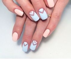 These 16 stunning nude nail art trend ideas will give you elegance, modernity, and beauty. Nail Art Designs Videos, Cute Nail Art Designs, Creative Nail Designs, Creative Nails, Acrylic Nail Designs, Hair And Nails, My Nails, Nagel Bling, Nails 2016