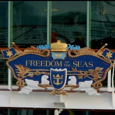Freedom of the Sea...great ship to cruise one