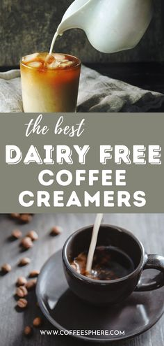 Looking for a dairy free coffee creamer? We found several in powder and liquid form that range from almond and coconut to flaxmilk and oat. These are the best dairy free coffee creamers. Dairy Free Coffee Creamer, Coffee Brewing Methods, Love Dairy, Ways To Make Coffee, Coffee Facts, Coffee Drinkers, Coffee Roasting, Fodmap, Best Coffee