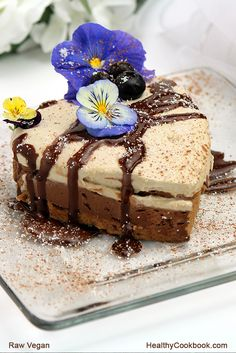 """Healthy delicious deserts made without dairy, soy or wheat. This one uses sea moss as a thickener. Learn more in the healthy raw vegan unccookbook """"Love on a Plate"""""""