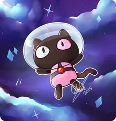 He's a pet for your tummy! He is super duper yummy! Steven Universe Cookie Cat, Chibi, Steven Universe Wallpaper, Cat Stevens, Universe Art, Star Vs The Forces Of Evil, Force Of Evil, Cat Drawing, Disney Cartoons