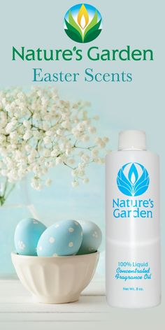 Fragrances for Easter from Natures Garden.  #easterscents