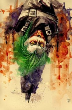 Joker and Batman Joker Batman, Der Joker, Joker Art, Joker And Harley Quinn, Joker Pics, Dc Comics Art, Marvel Dc Comics, Comic Books Art, Comic Art
