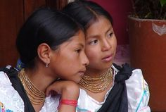 Girls from Otavalo - Ecuador