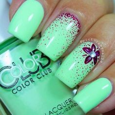 Best Spring Nails - 31 Best Spring Nails for 2018 - Fav Nail Art #springnails #springnailart