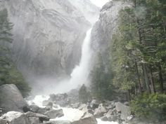 Yosemite Falls Yosemite Falls, My Photos, Waterfall, Travel, Outdoor, Life, Viajes, Outdoors, Waterfalls