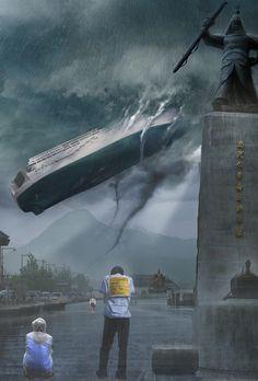 Summoning Sewolho. 세월호 침몰의 진실은 아직도 명확하게 밝혀지지 않고 있습니다.  침몰한 세월호를 시민들의 광장인 광화문으로 소환하여 조사하기를 희망하는 마음으로!