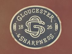 Dribbble - Gloucester & Sharpness Patch by Jordan Mahaffey